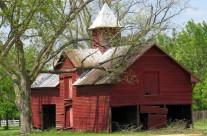 Red barn, near Bennettsville, S.C.