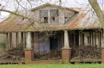 Empty home, near Pleasant Hill, N.C.