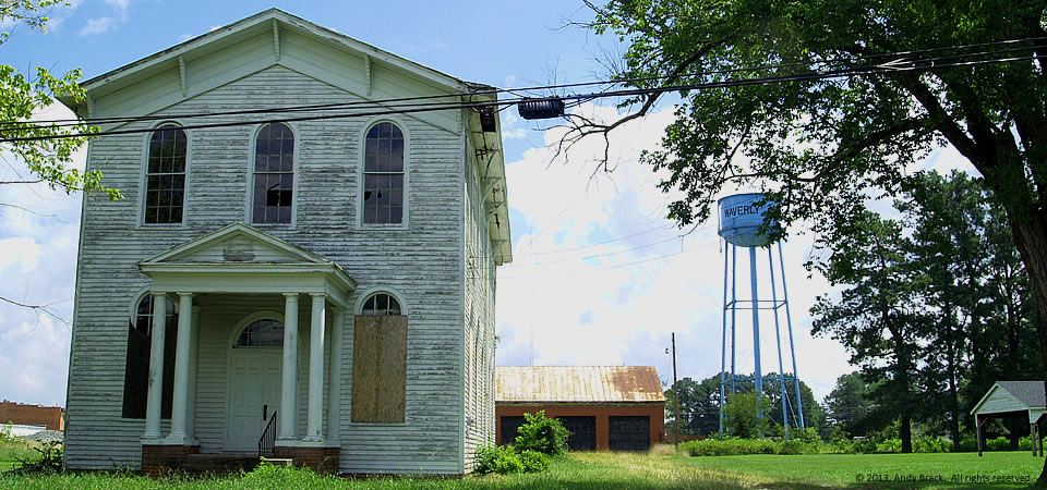 Old Masonic Hall, Waverly, Va.  Photo by Andy Brack.