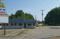 Closed restaurant, Henderson, N.C.