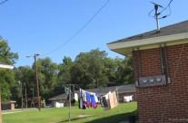 Clothes line, Statesboro, Ga.
