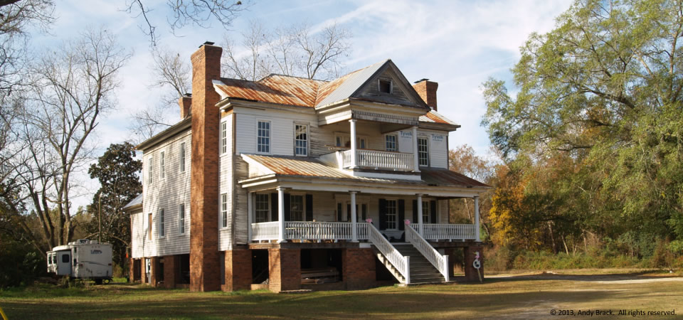 Grand old house, near Holly Hill, S.C.