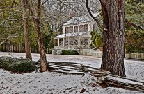 Stately old home, Kingstree, S.C.