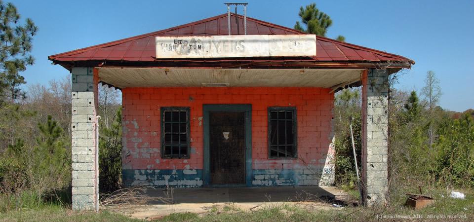 Old Myers store, Stuckey, Ga.