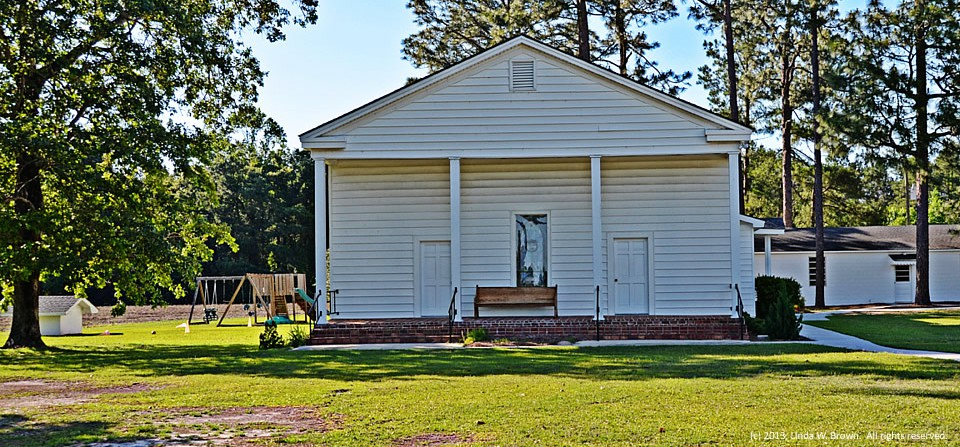 Country church, Clarendon County, S.C.