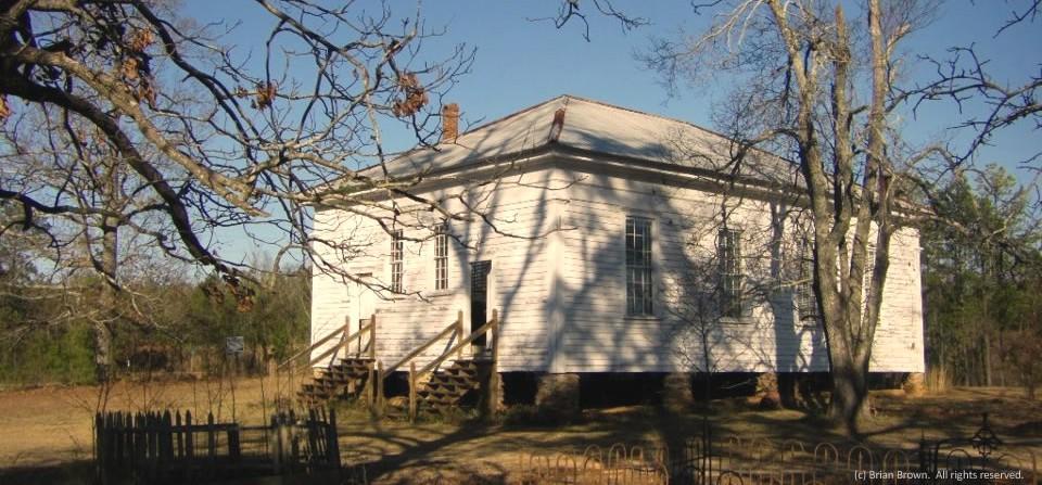 Old church, Stewart County, Ga.