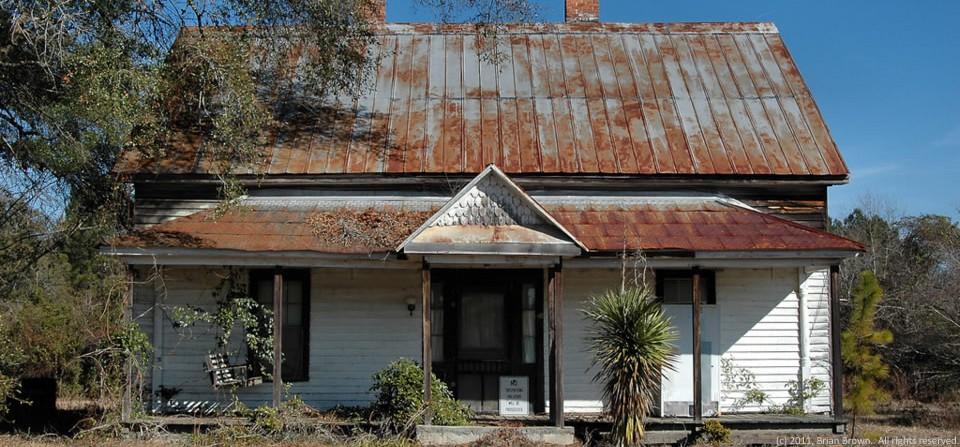 Eclectic farmhouse, Ohoopee, Ga.
