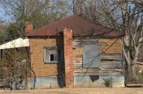 Tar-paper house, Gough, Ga.