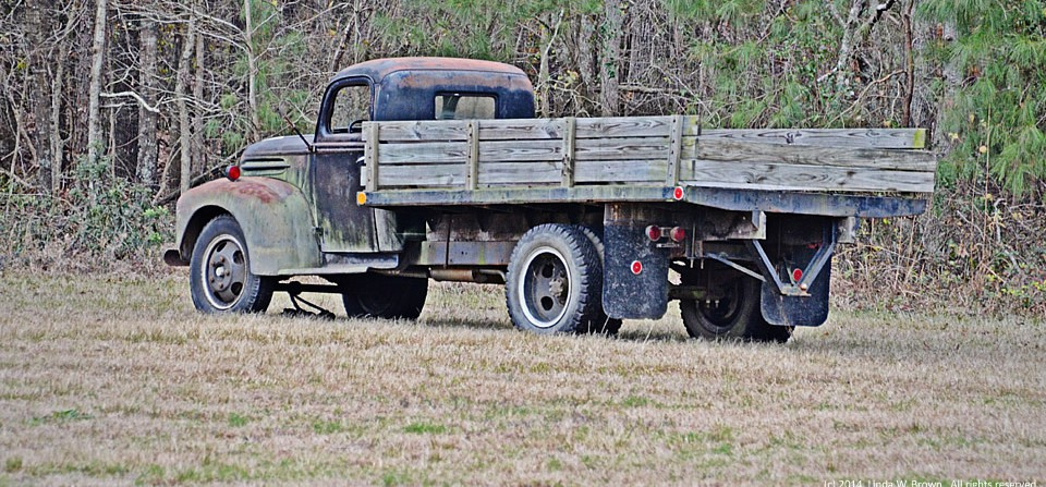 Old truck, Clarendon County, S.C.