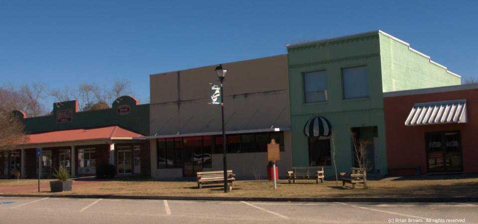Parker Street in rural Brooklet, Ga.
