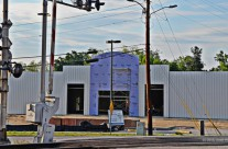 Business construction, Kingstree, S.C.