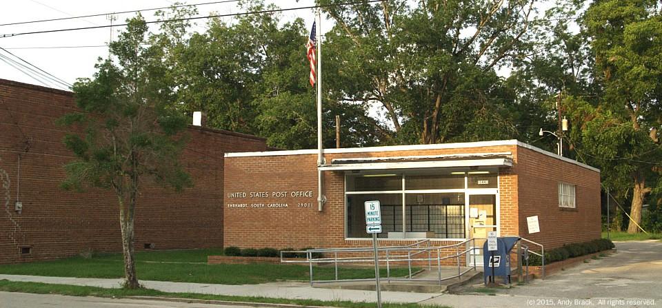 Post office, Ehrhardt, S.C.