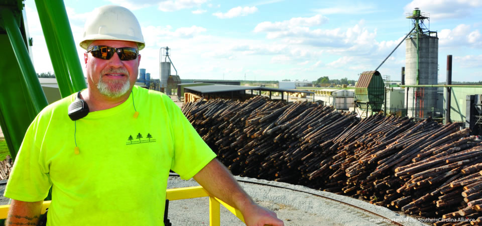 Collum's Lumber Products is in Allendale County, S.C.
