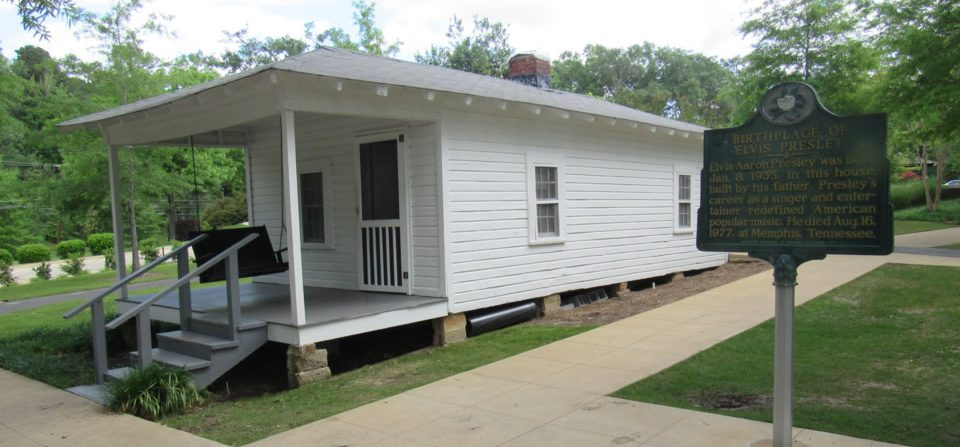 East Tupelo, Miss., birthplace of Elvis